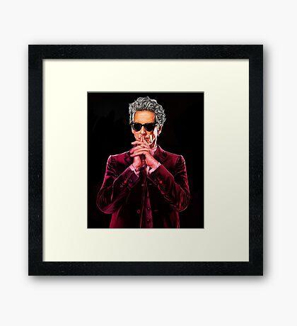 Doctor Who 12 Framed Print