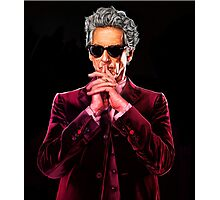 Doctor Who 12 Photographic Print