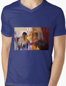 Remix, 2010, 120-80cm, oil on canvas Mens V-Neck T-Shirt