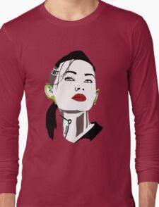 Mass Effect  - Jack : Subject Zero . Dark T-shirt design Long Sleeve T-Shirt