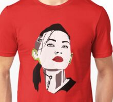 Mass Effect  - Jack : Subject Zero . Dark T-shirt design Unisex T-Shirt