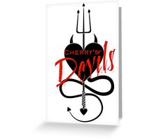 Cherry's Devils Official Merchandise Greeting Card