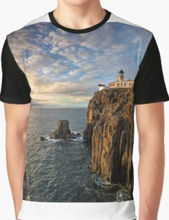 Sunset at Neist Point Lighthouse Graphic T-Shirt