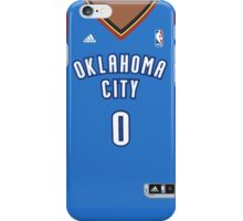 Russell Westbrook Blue Jersey front - Phone case iPhone Case/Skin
