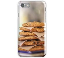 Oatmeal Chocolate Chip Cookies iPhone Case/Skin