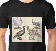 Naturgeschichte in Bildern mit erläuterndem Text E Strack 1820 Lief 2 Birds 012 Unisex T-Shirt