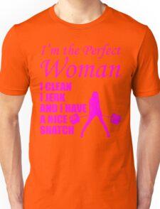 Perfect Woman (Clean, Jerk, Nice Snatch) Unisex T-Shirt