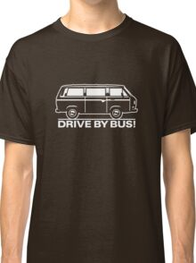 Drive by Bus 3 (white) Classic T-Shirt