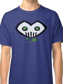 Heart-Shaped Skull Classic T-Shirt