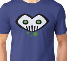Heart-Shaped Skull Unisex T-Shirt