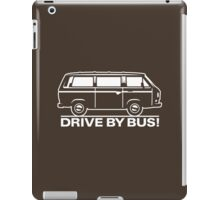 Drive by Bus 3 (white) iPad Case/Skin