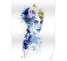 The Blue Woman Poster