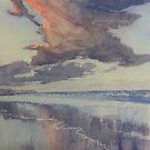 Flamborough Head from Fraisthorpe Beach by Glenn  Marshall