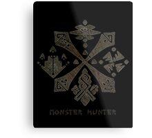 Monster Hunter Guild Metal Print