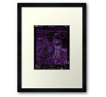 USGS TOPO Map Alabama AL Newburg 304677 2000 24000 Inverted Framed Print