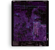 USGS TOPO Map Alabama AL Newburg 304677 2000 24000 Inverted Canvas Print