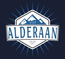 Visit Alderaan - While You Can Kids Tee