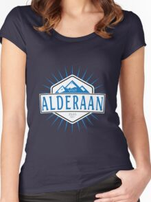 Visit Alderaan - While You Can Women's Fitted Scoop T-Shirt