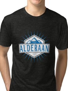 Visit Alderaan - While You Can Tri-blend T-Shirt