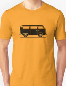 Drive by Bus 2 (black, only) Unisex T-Shirt