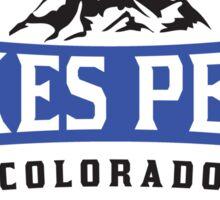 PIKES PEAK COLORADO Skiing Ski Mountain Mountains Snowboard National Forest Sticker