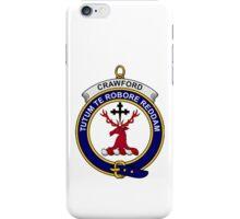 Crawford Clan Badge iPhone Case/Skin