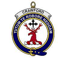 Crawford Clan Badge Photographic Print
