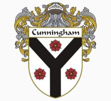 Cunningham Coat of Arms/Family Crest Kids Tee