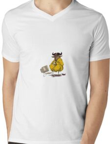 gnu Mens V-Neck T-Shirt