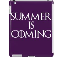 Summer is coming iPad Case/Skin