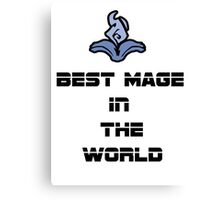 Best Mage Canvas Print