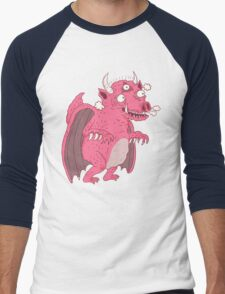 gawdzilla Men's Baseball ¾ T-Shirt