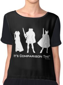 """It's Comparison Time"" - Powerful Princess Chiffon Top"