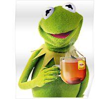 Kermit Sips Tea Poster