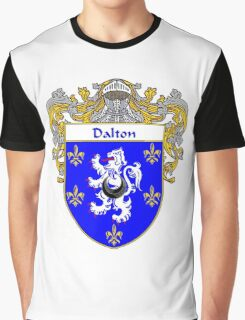 Dalton Coat of Arms/Family Crest Graphic T-Shirt