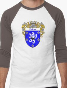 Dalton Coat of Arms/Family Crest Men's Baseball ¾ T-Shirt