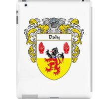 Daly Coat of Arms/Family Crest iPad Case/Skin