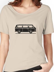 Drive by Bus 3 (black, only) Women's Relaxed Fit T-Shirt