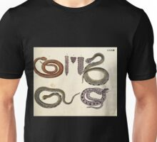 Naturgeschichte in Bildern mit erläuterndem Text E Strack 1820 Lief 3 Reptiles 033 Unisex T-Shirt
