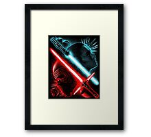 Light and Dark Framed Print