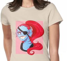 Undyne Bust Womens Fitted T-Shirt