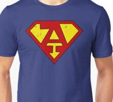 Superman A Letter Unisex T-Shirt