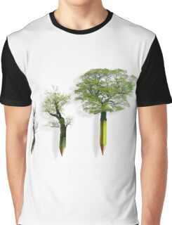 Sustainable Woodland Graphic T-Shirt