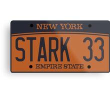 Avengers-Stark Metal Print