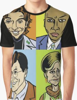 Strangers With Candy Square Graphic T-Shirt