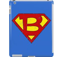 Superman B Letter iPad Case/Skin