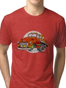 1950-GMC-1 Ton Stakebed Tri-blend T-Shirt