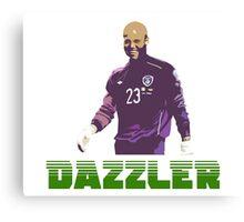 "Darren ""Dazzler"" Randolph Canvas Print"