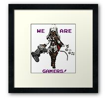 Inspired by Ezio of Assassin's Creed Framed Print