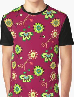 Floral pattern #7 Graphic T-Shirt